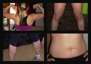 Cvičení s Jillian Michaels - výsledky