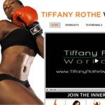 Tiffany Rothe a její krátké tréninky
