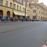 Sportisimo 1/2Maraton Praha 2014 - pohled na trať