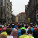 Sportisimo 1/2Maraton Praha 2014 - pohled z koridoru