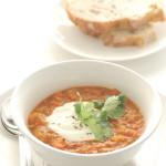 red lentil & preserved lemon soup