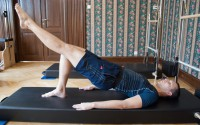 "Pilates cvik ""Shoulder Bridge"""
