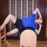 "Cvik ""Side Bend"" na Pilates Ladder Barrelu"